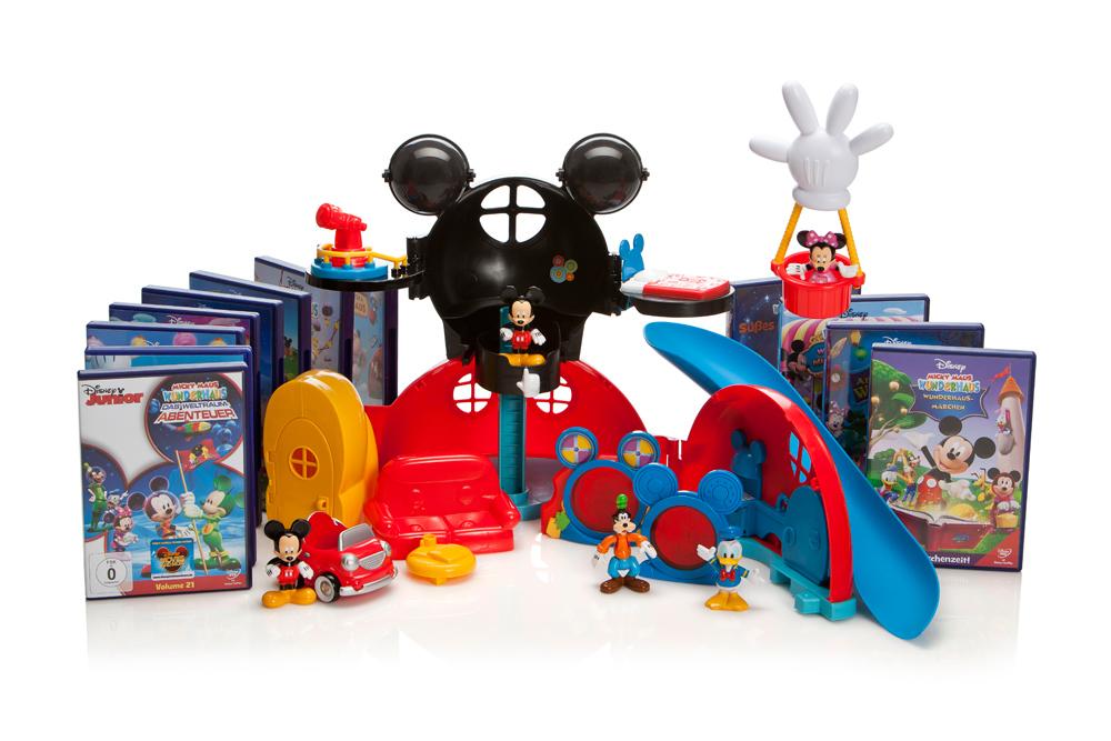 Disney Junior und MATTEL – Micky Maus Wunderhaus