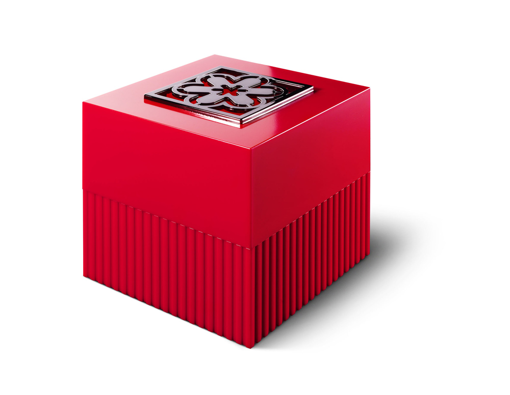 LAMPE BERGER – Cube rouge