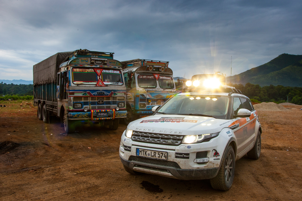 Land Rover – Experience Tour 2013
