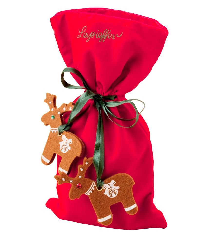 Leysieffer – Weihnachtstüte im Samtsack