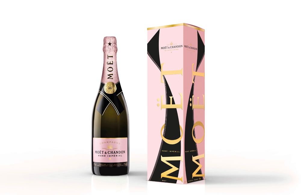 MOËT & CHANDON – MOËT ROSÉ IMPÉRIAL UNFURL THE TIE