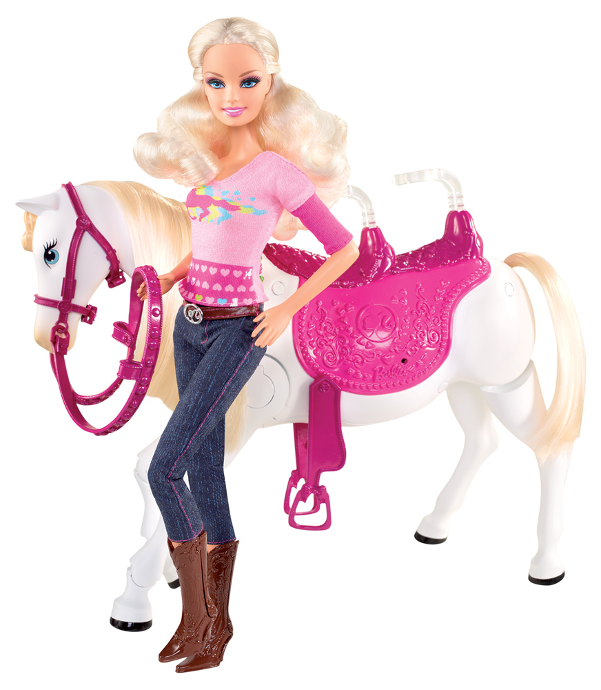 MATTEL – Barbie Family Reitausflug