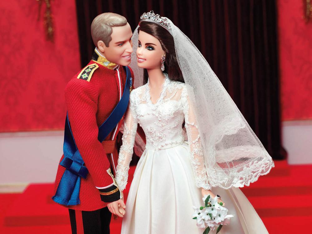 MATTEL – Prinz William und Catherine