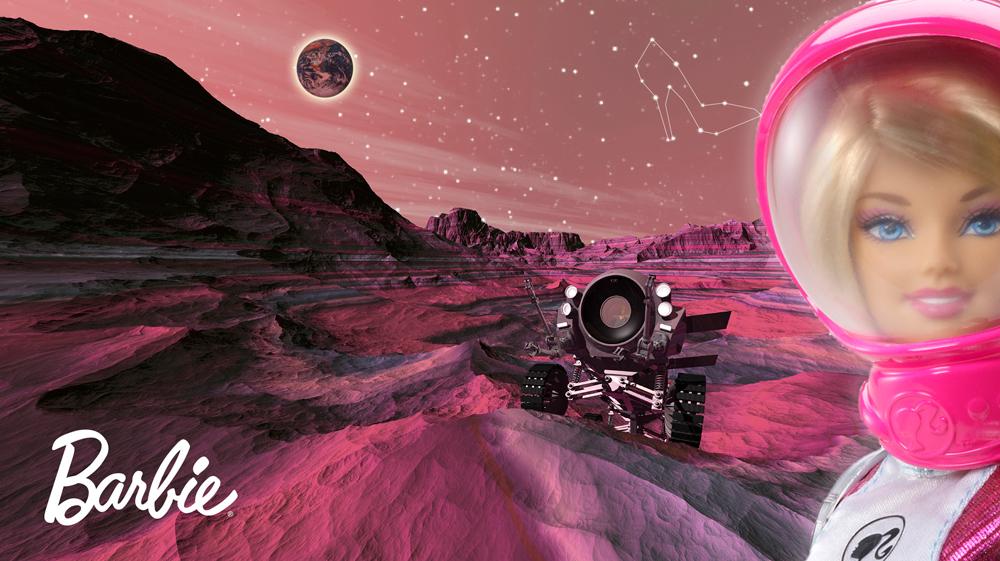MATTEL – Die Mars Explorer Barbie®