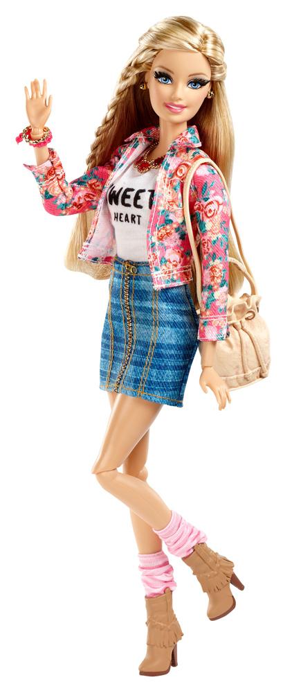 MATTEL – Deluxe-Moden Fashionista Barbie