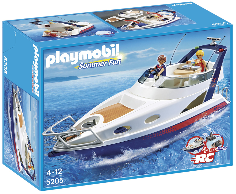 PLAYMOBIL – Luxusyacht