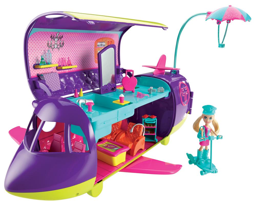 MATTEL – Polly Pocket Abenteuer-Jet