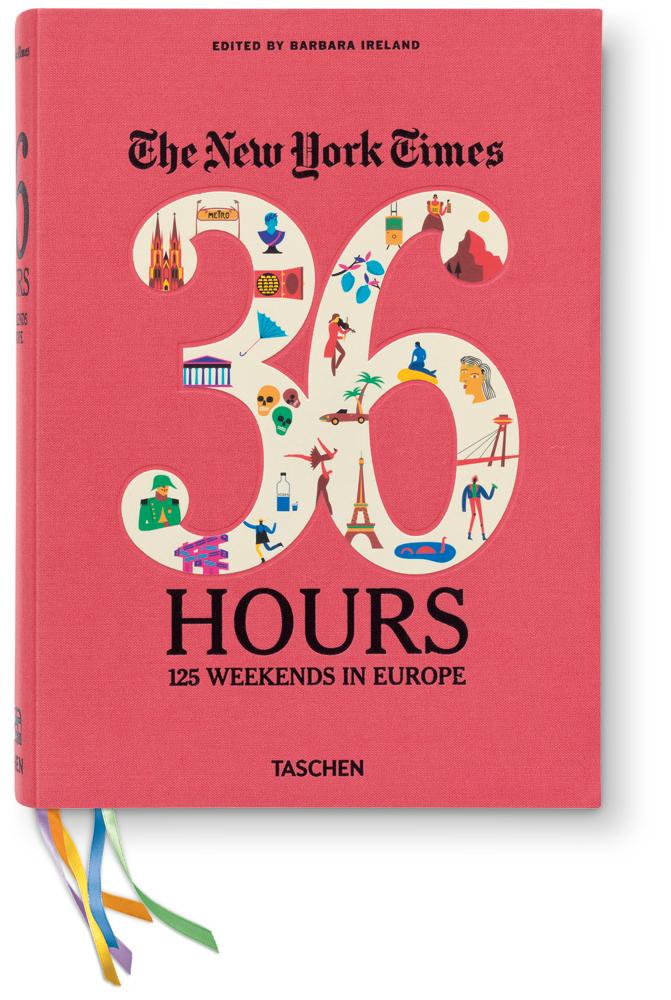 TASCHEN – 125 Wochenenden in Europa