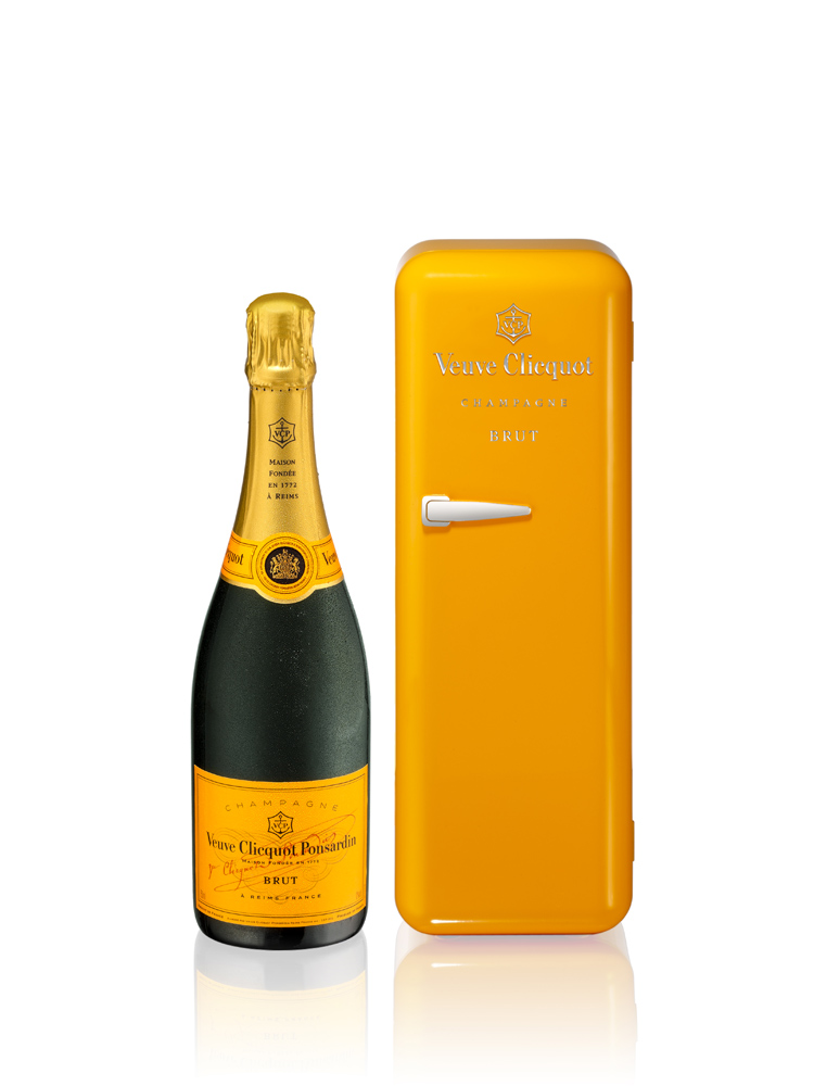 Veuve Clicquot – Brut in Fridge