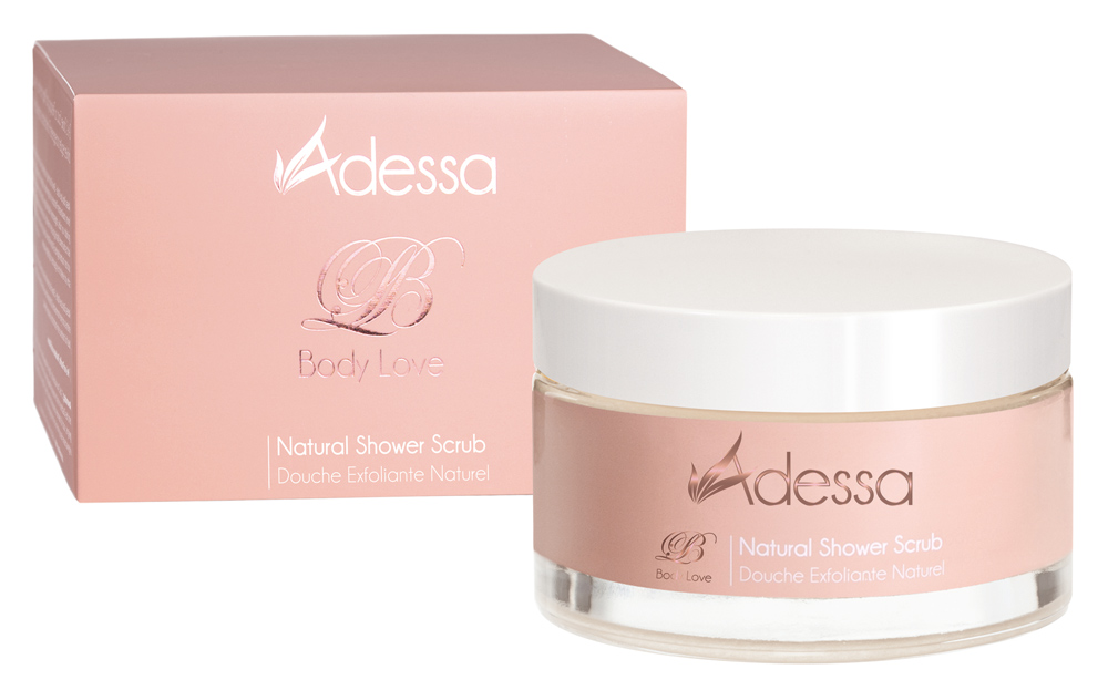 abc nailstore – Adessa Natural Shower Scrub