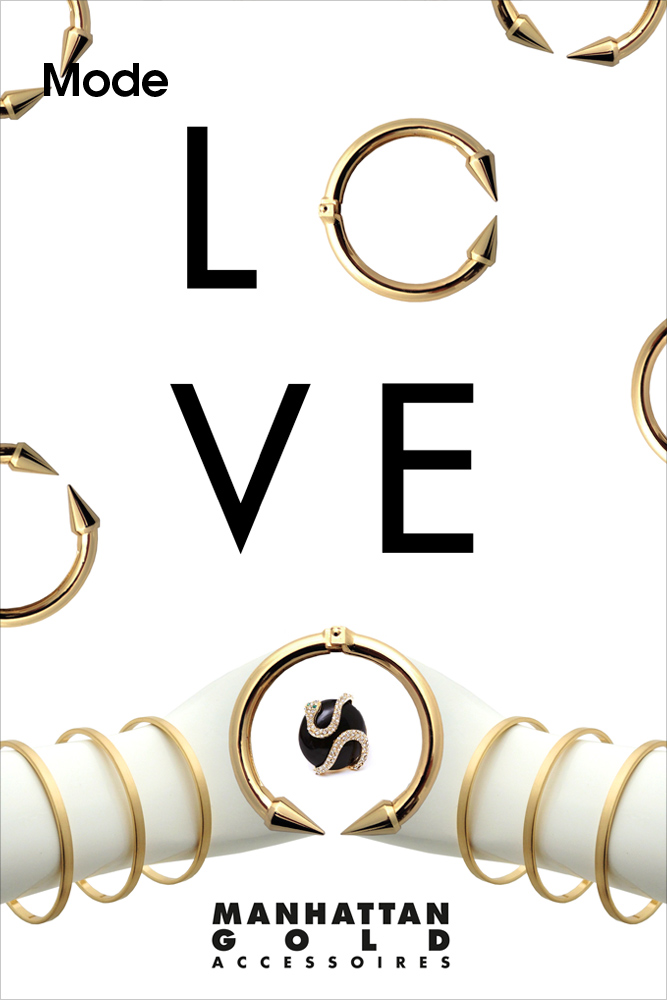 MANHATTAN GOLD ACCESSOIRES, LOVE and MORE